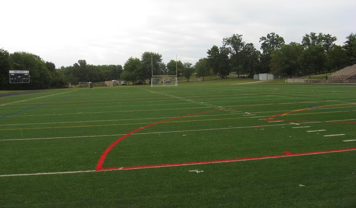 Stadium turf field ccbc essex