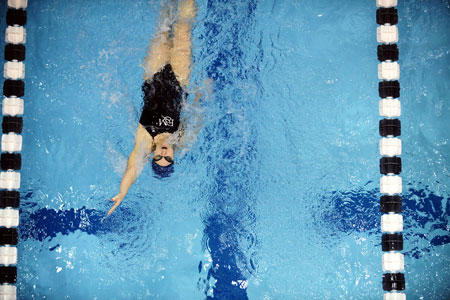 Women's Swimming Stays Perfect in CC