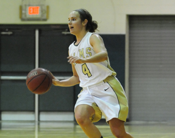 Women's Basketball Staves Off Late Rally to Knock of Newbury College, 69-61
