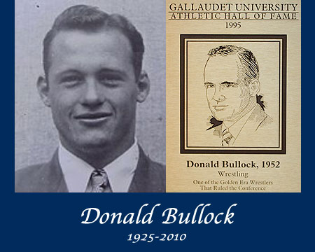 GU Athletics mourns the loss of Donald M. Bullock