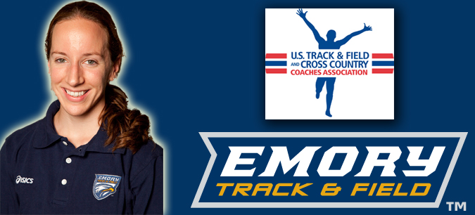 Emory's Maddy Outman Named the USTFCCCA Regional Women's Assistant Coach of the Year