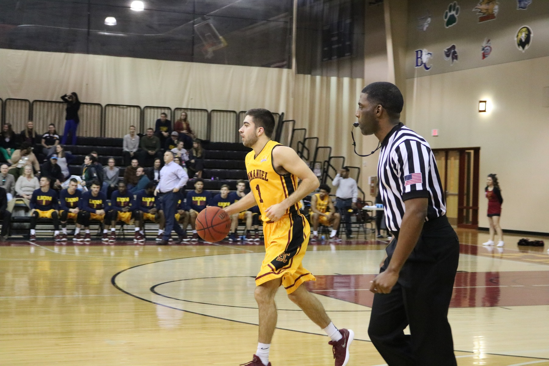 Lions Shut Down Belmont Abbey
