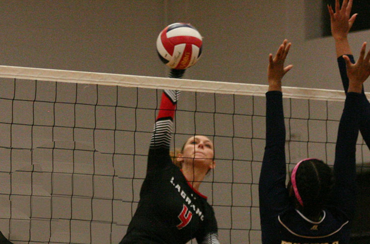 Volleyball: Panthers take five set thriller over Division II Stillman
