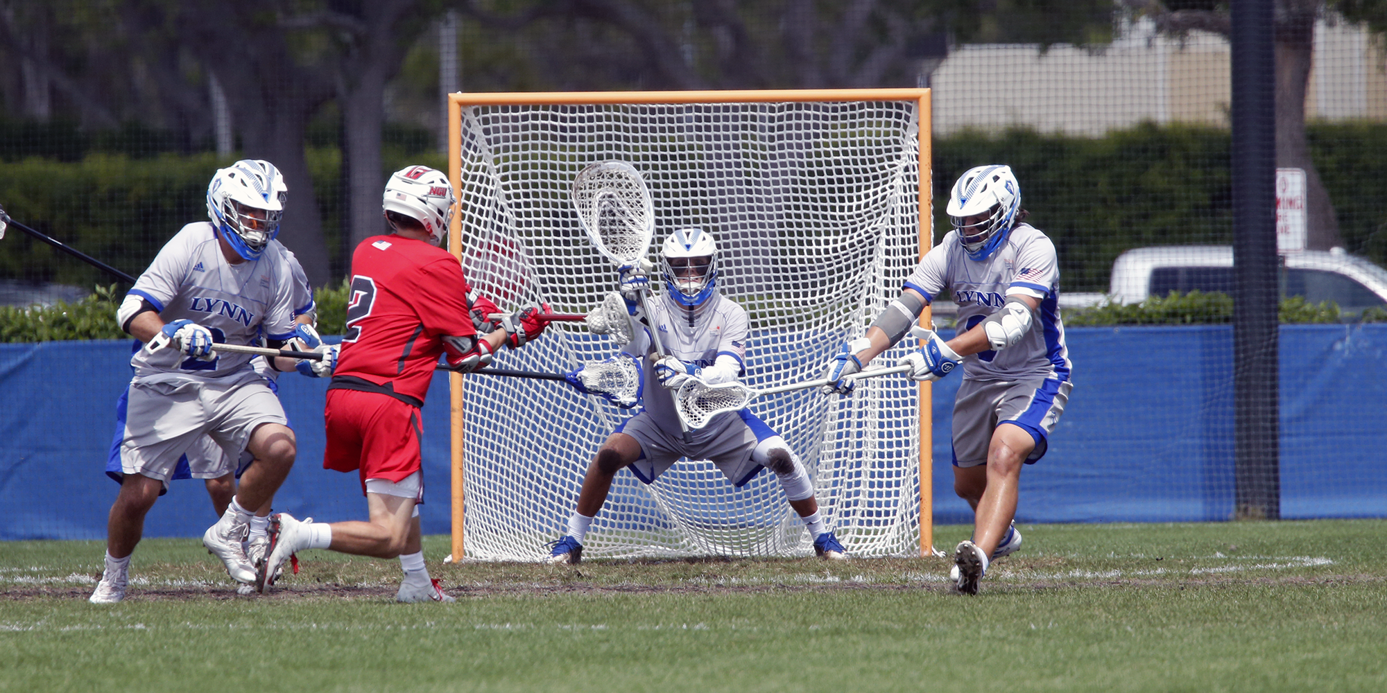 Men's Lacrosse Tackles Rival Rollins for First SSC Triumph