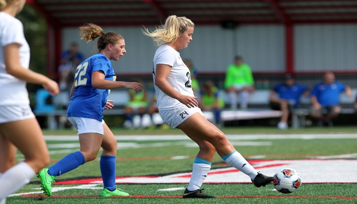 Women's Soccer conquered by Crusaders
