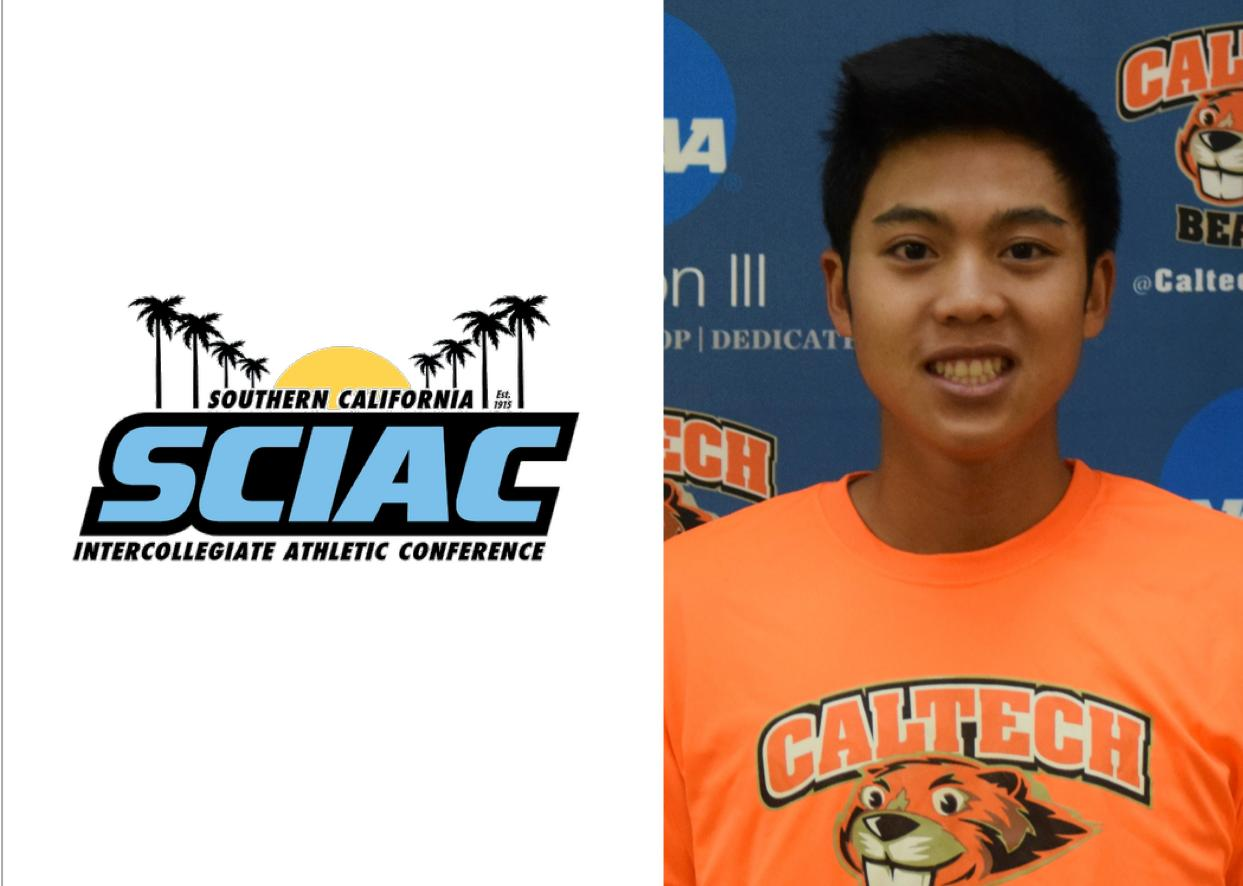 Nguyen Named SCIAC Men's Tennis Athlete of Week