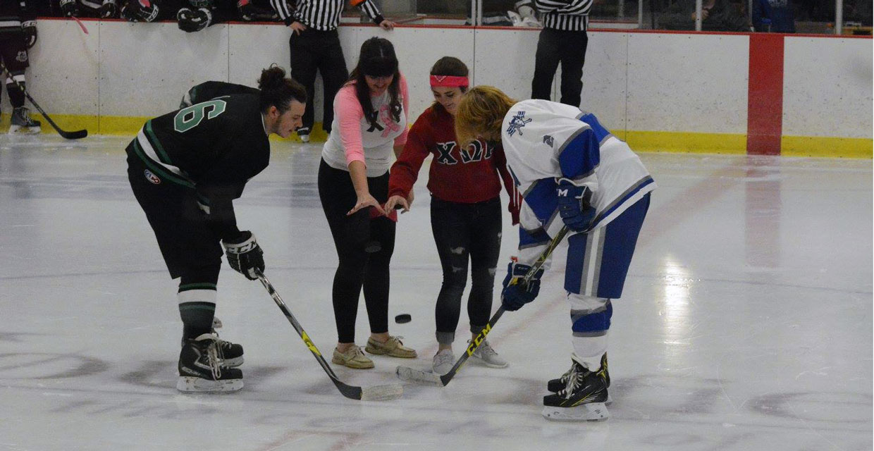 Photo for LTU Hockey Partners With Chi Omega Rho