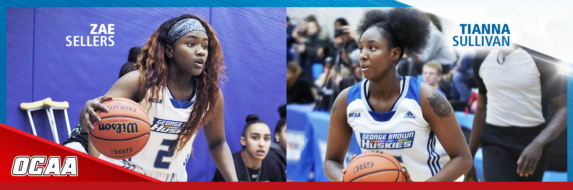 HUSKIES STARS TIANNA SULLIVAN AND ZAE SELLERS RECOGNIZED AT WOMEN'S BASKETBALL AWARDS BANQUET