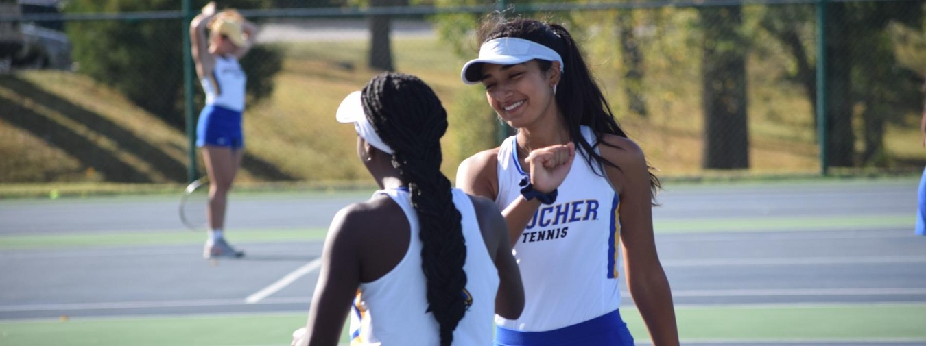 Goucher Women's Tennis Celebrates Career Of Mandile Mpofu; Senior Wins Clinching Match Against Lebanon Valley