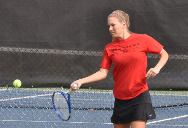 Women's Tennis: Panthers sweep Mary Baldwin 9-0 in USA South match