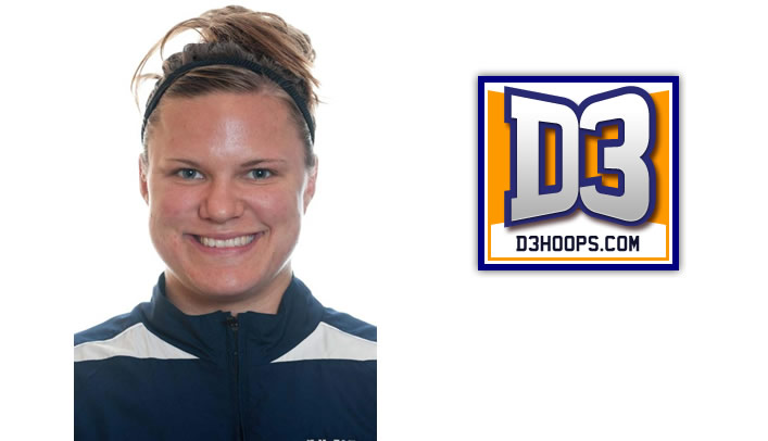 Callie Halama Named to D3hoops.com Team of the Week