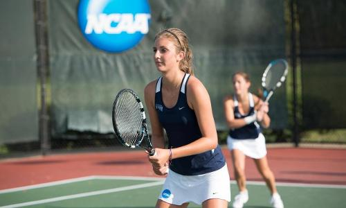 #21 Women's Tennis Finishes Blue-Grey Invitational With a 7-2 Victory Over U.C. Santa Cruz