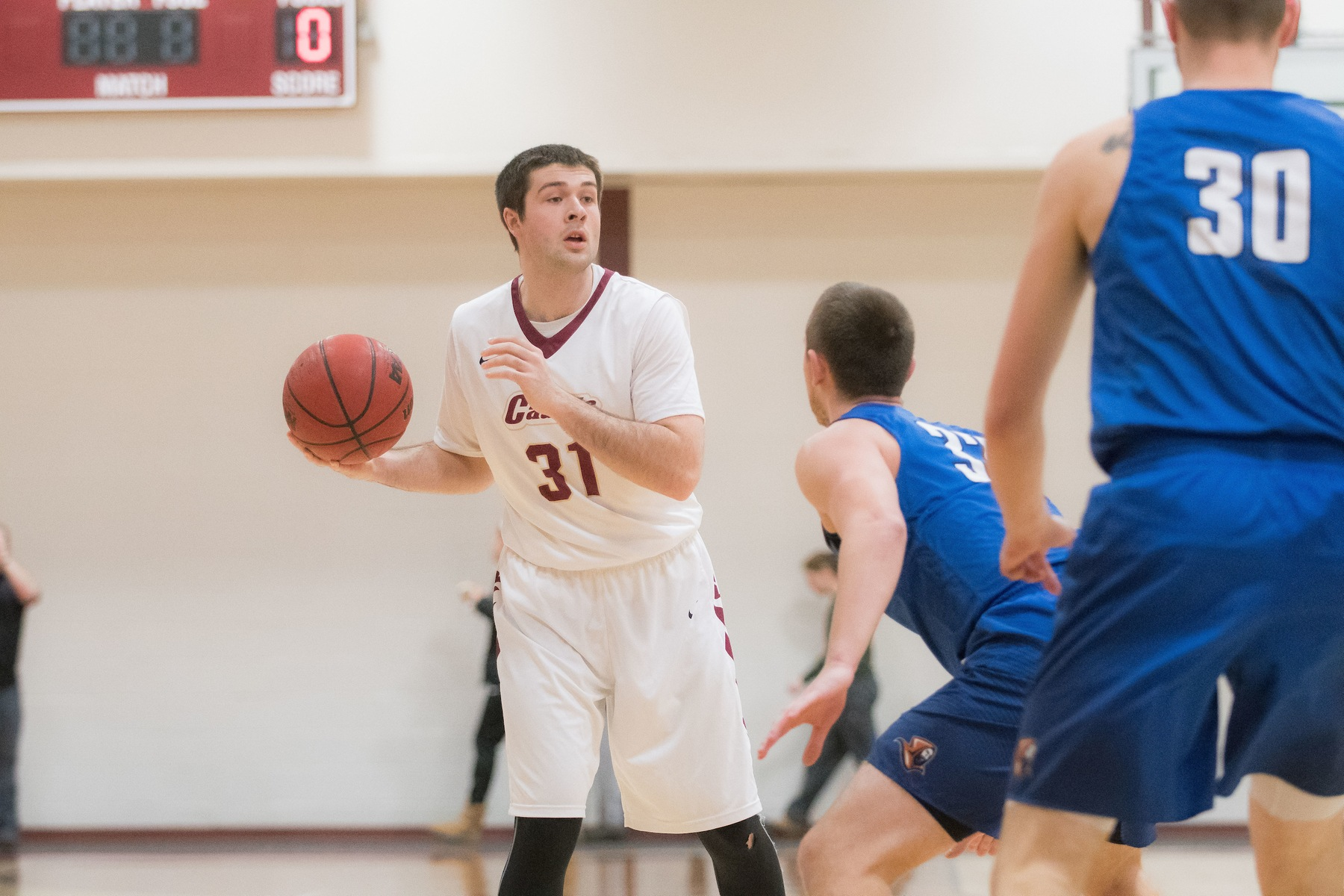 Men's Basketball: Wildcats pull away from Cadets, 72-56