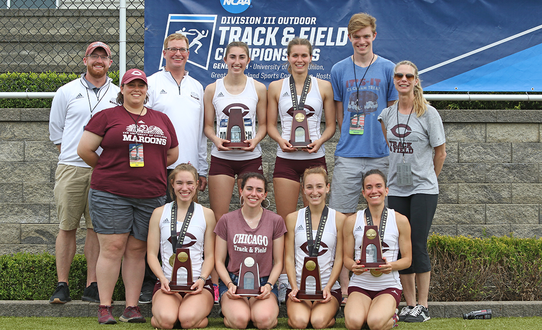 UChicago Women's Track & Field Claims Three More All-American Finishes; Places Eighth at NCAA Outdoor Championships