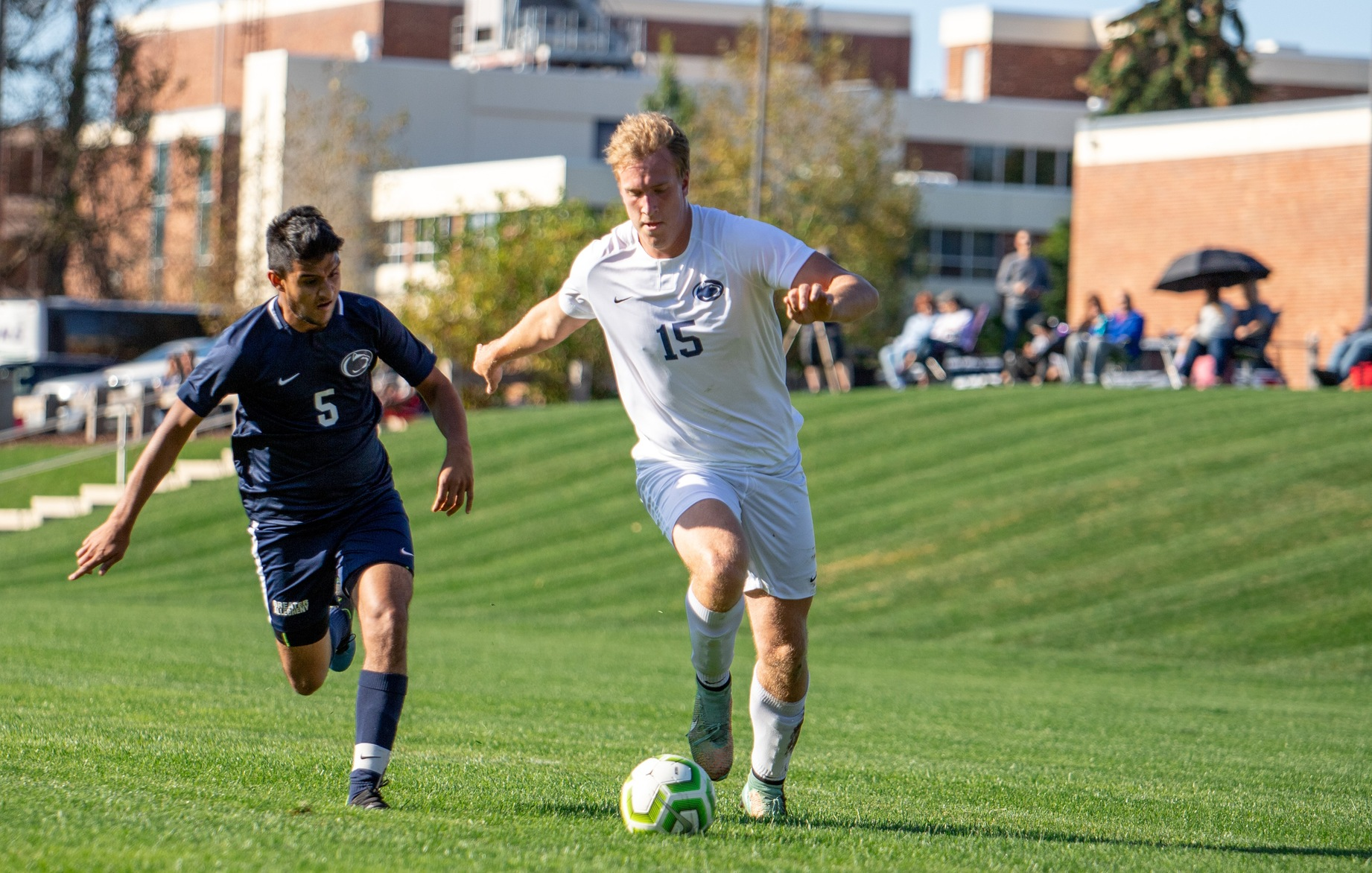Kuczynski Hat Trick Leads Men's Soccer against Greater Allegheny