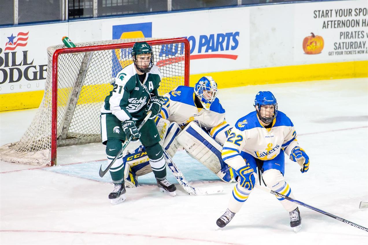LSSU vs  MSU Ice Breaker Tournament - Courtesy of Michael