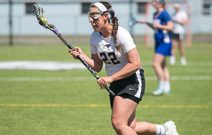 Women's lacrosse suffers second straight 13-9 loss, falls at Assumption
