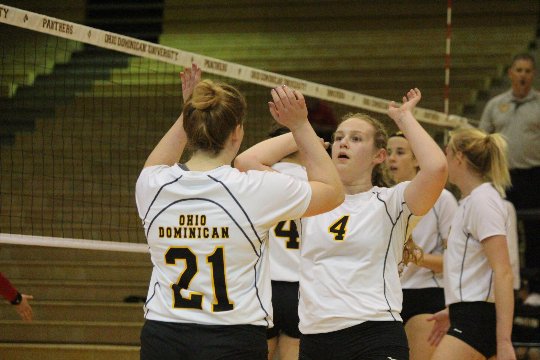 Volleyball Drops Two To Close Warrior Invitational