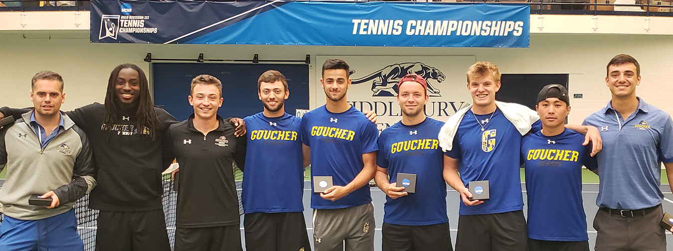 Goucher Men's Tennis' Season Ends By The Hands Of The Defending National Champions In NCAA Championships Second Round