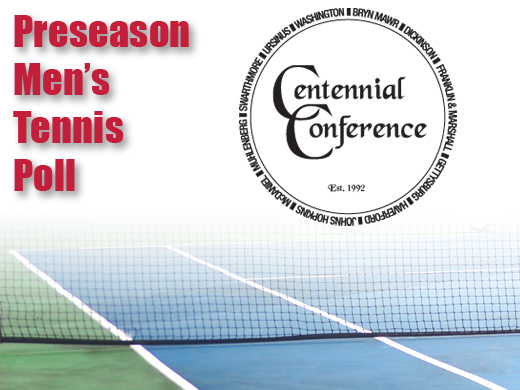 Fords slotted 4th in preseason men's tennis conference poll