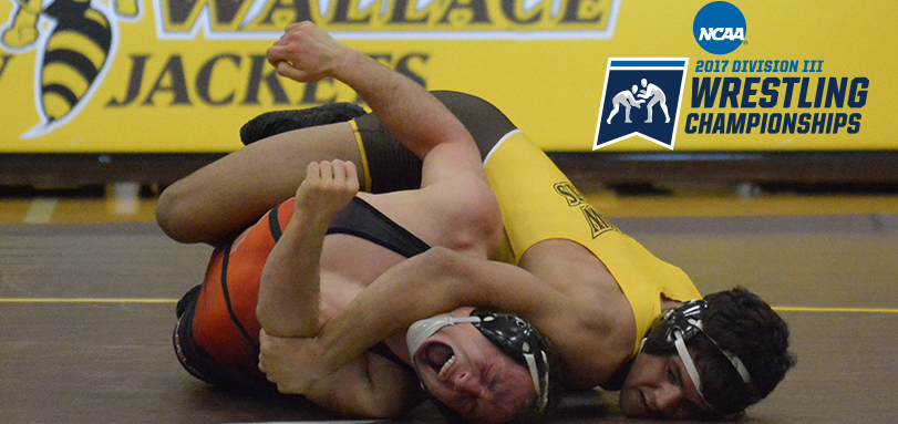 Wrestlers Compete on Day One of NCAA DIII Championships
