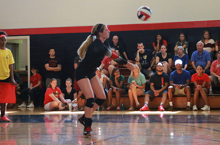 Volleyball: Season ends for Panthers at USA South Tournament