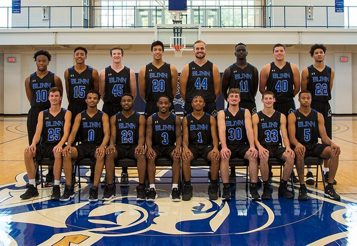Blinn College Men's Basketball Led Region XIV in Four Categories