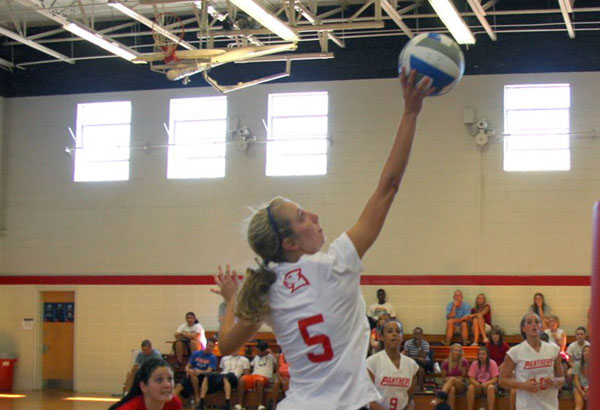 Volleyball: Panthers go 3-1 at Toccoa Falls Tournament