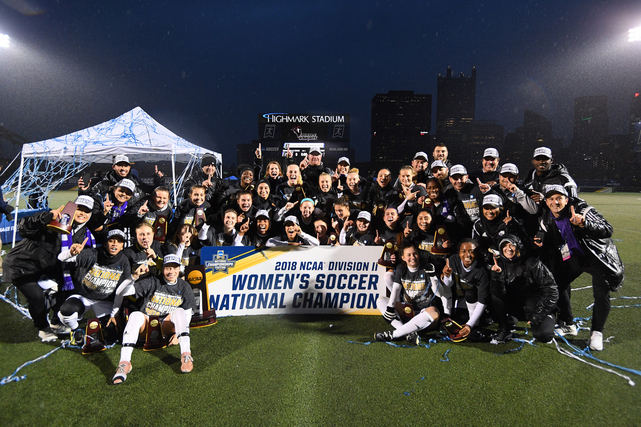 UB UKNOW!!  Women's Soccer Takes 2018 NCAA National Crown With 1-0 Win Over Grand Valley State
