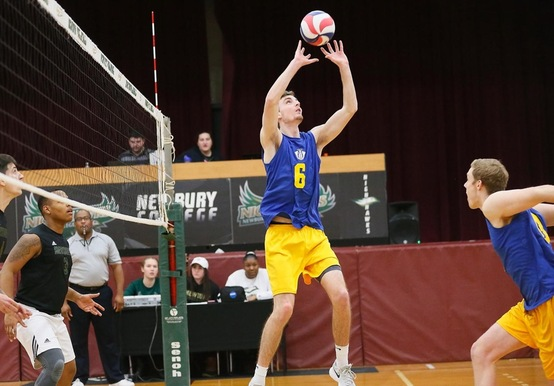 MEN'S VOLLEYBALL SWEPT BY RIVIER IN GNAC OPENER, 3-0