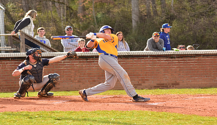 Mars Hill falls to Wingate in series opener