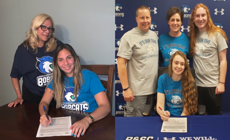 CURLEY SIGNS TWO FOR 2019 VOLLEYBALL SEASON
