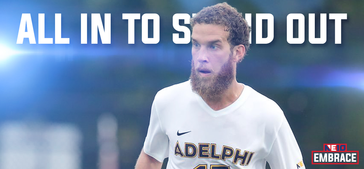 Adelphi's Soler Tabbed NE10 Men's Soccer Player of the Year as League Hands Out Awards, Names All-Conference Teams