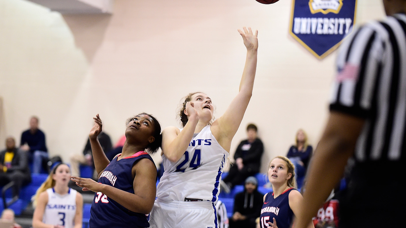 Late surge not enough for Saints in loss to Cabrini