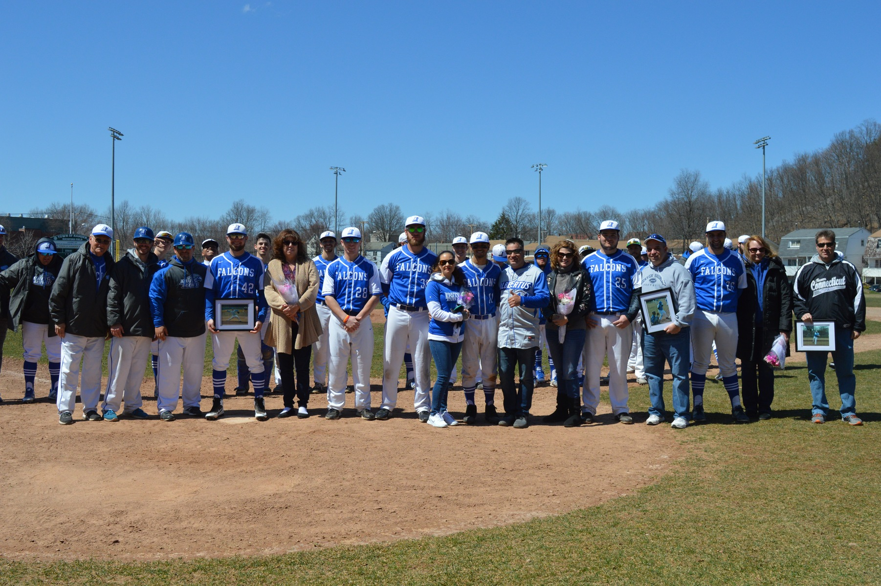 Baseball Splits Conference Doubleheader Versus Anna Maria on Senior Day