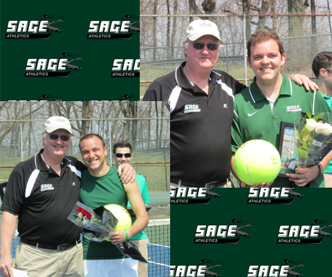 Gators fall  in tight match 5-4 to Utica on Senior Day
