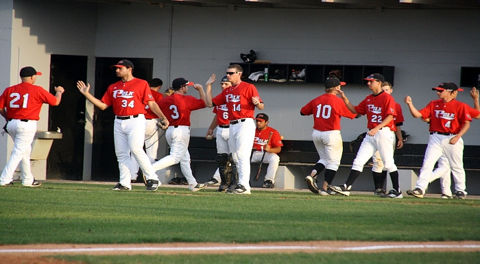 Polk Tied for First in Baseball Coaches' Poll