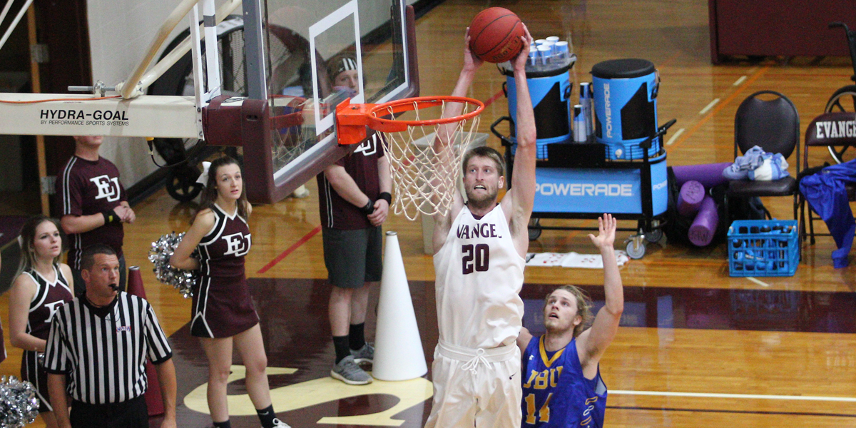 John Brown Outlasts Men's Basketball in 95-91 Setback