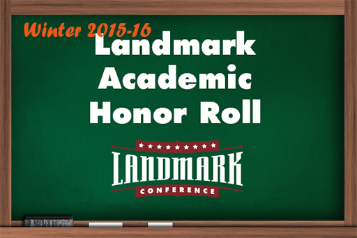 Landmark Reveals Academic Honor Roll for Winter