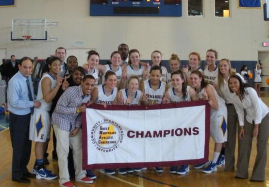WOMEN'S BASKETBALL CAPTURES SIXTH STRAIGHT GNAC TITLE WITH 68-57 VICTORY OVER ST. JOSEPH'S