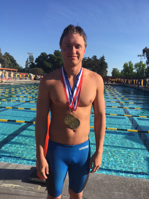 Tanner Davis Earns Double Gold