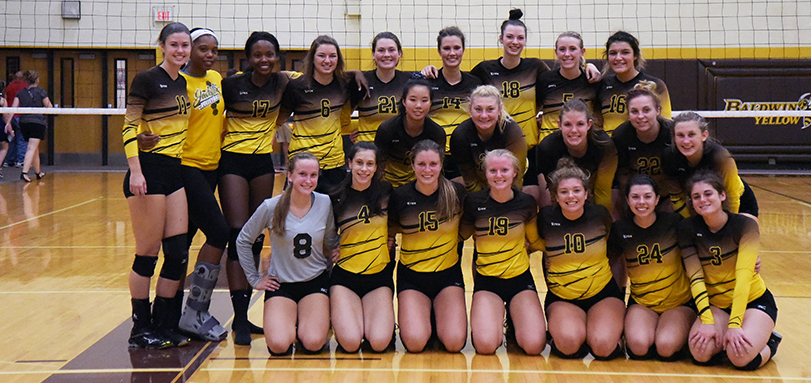 Volleyball Co-Champs at HCAC/OAC Crossover