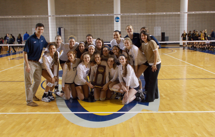 Emory Volleyball Tops Colorado College In Championship Match Of The Atlanta Regional -- Advances To Round Of 8