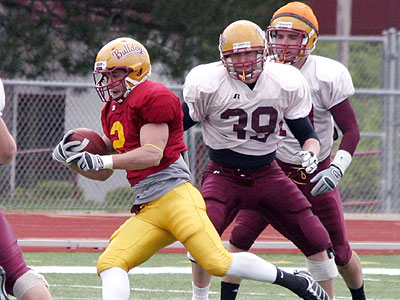 The Bulldogs will hold their annual spring game on Friday night (Photo courtesy Zeke Jennings/Big Rapids Pioneer)