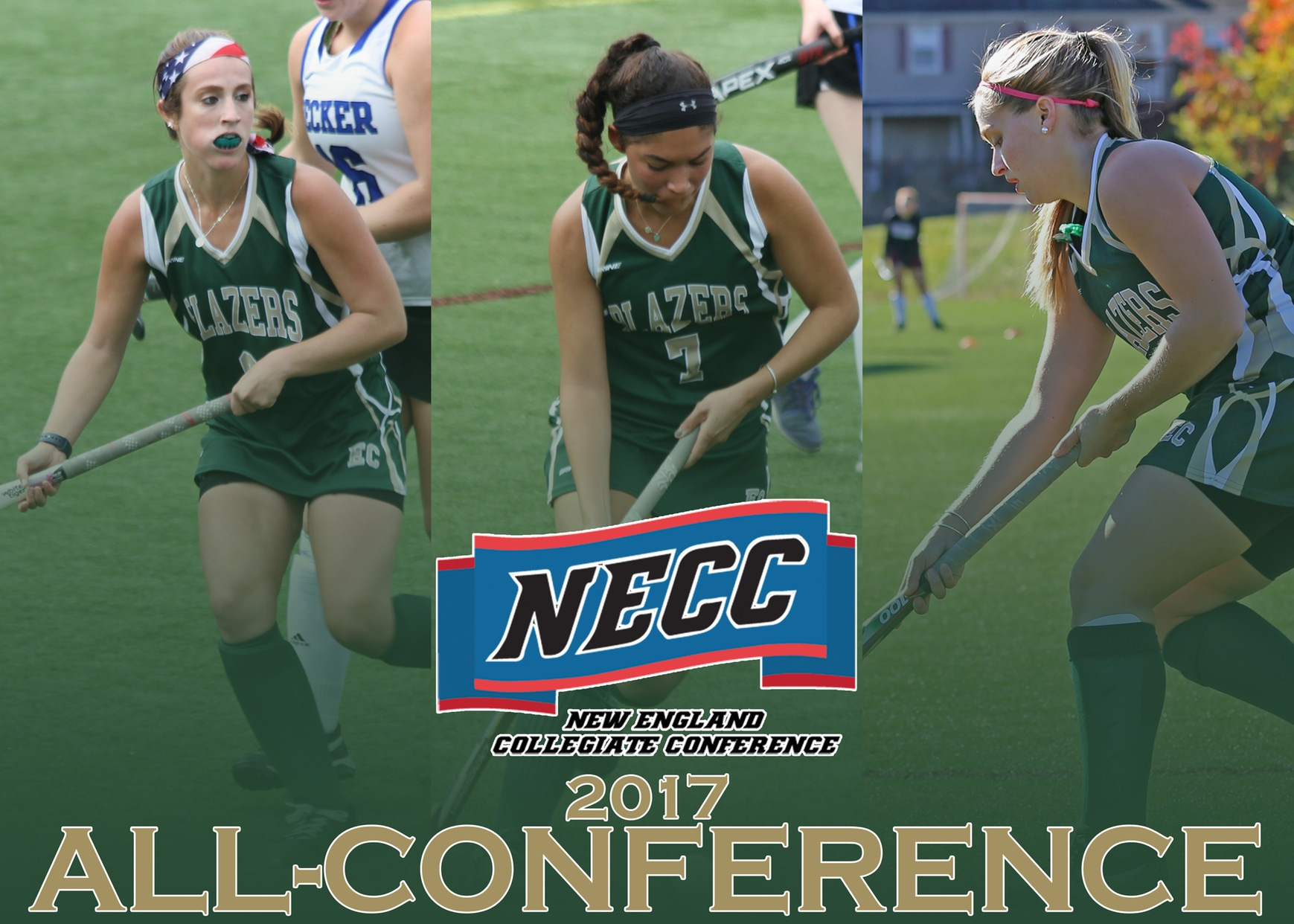 Three Blazers Earn Field Hockey All-Conference Honors