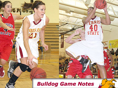Kelsey DeNoyelles (left), Justin Keenan (right) and the Bulldogs will be in action this week in Ohio (Pioneer Photos)