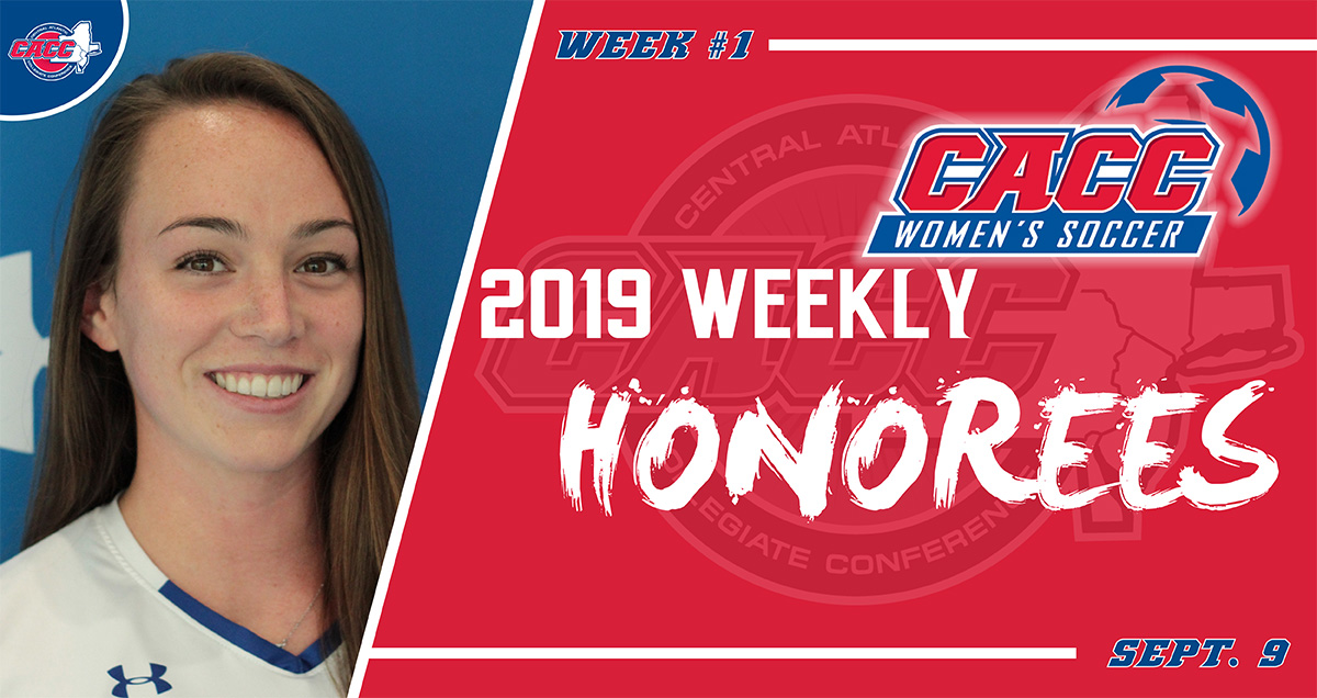 CACC Women's Soccer Weekly Honorees (Sept. 9)