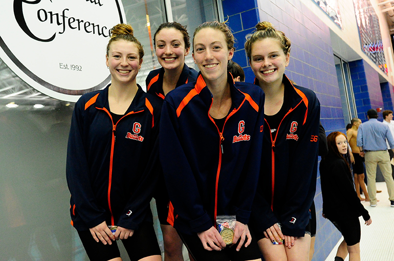 #CentConf Recognition: NCAA Swimming Championship Qualifiers