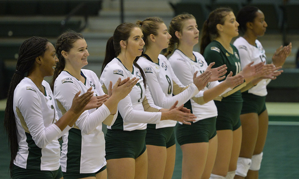 VOLLEYBALL PLAYS AT SANTA CLARA ON TUESDAY, DENVER TOURNAMENT ON FRIDAY AND SATURDAY