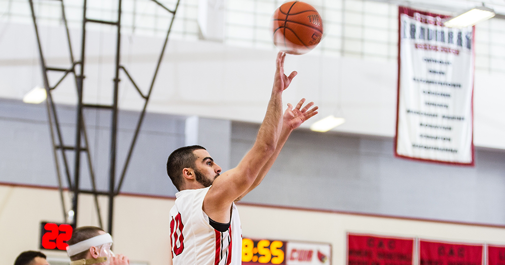 Khouri Shoots Catholic Past Drew, 84-81